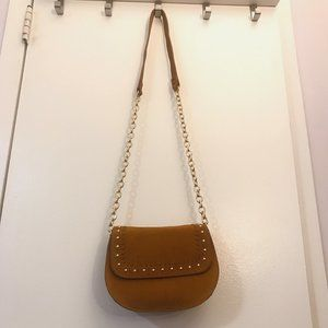 & Other Stories - Camel Suede Crossbody Bag